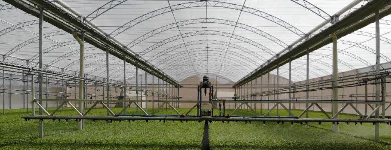 barra irrigação